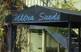 Ultra Suede gay bar and club